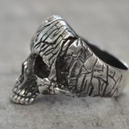 Кольцо из серебра  «Rawhead»