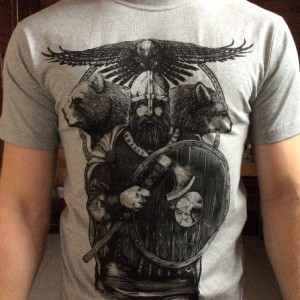 "Мужская Футболка ""Viking"""